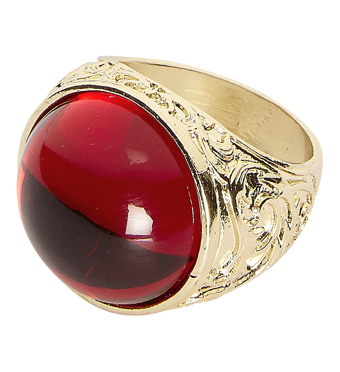 Αποκριάτικο Αξεσουάρ Δαχτυλίδι με Κόκκινη Πέτρα 01c0c56cd39